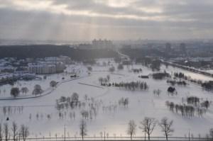 Вид на Минск