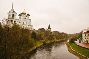 Вид на Кремль с Троицкого моста