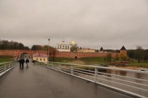 Пешеходный мост, ведущий к Кремлю