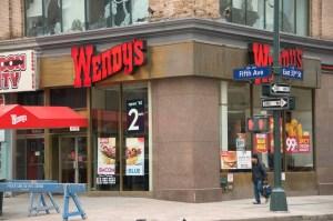 Кафе Wendy`s