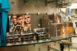 Сувениры в магазине Телестудии NBC