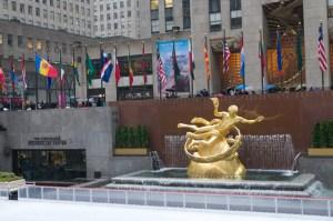 Скульптура в Рокфеллеровском центре
