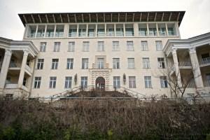 Основной корпус санатория