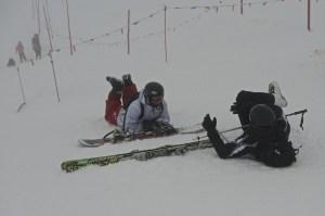 Любители зимних видов спорта