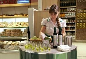 Дегустация оливкого масла