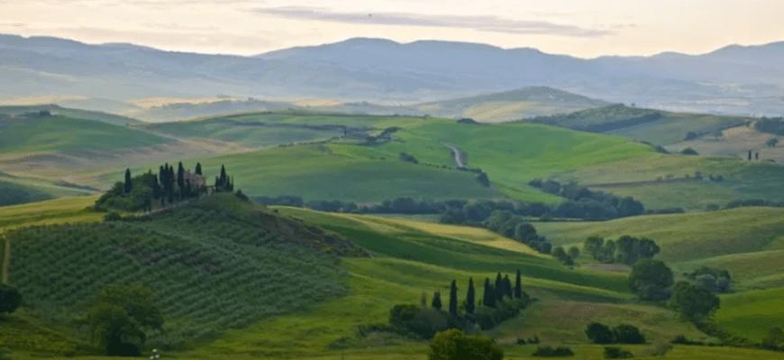 Рассвет в Италии