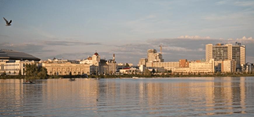 Казань, озеро Кабан