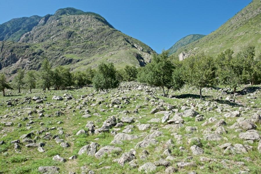 Горный Алтай, дорога к Каменным грибам