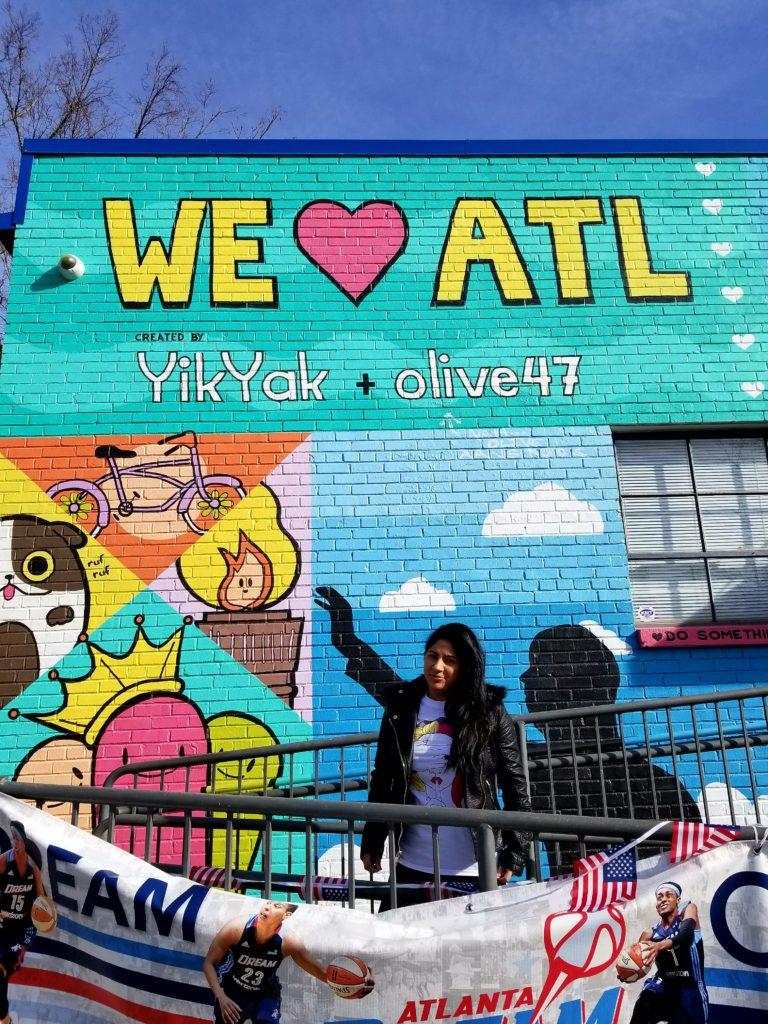 Visiting Atlanta