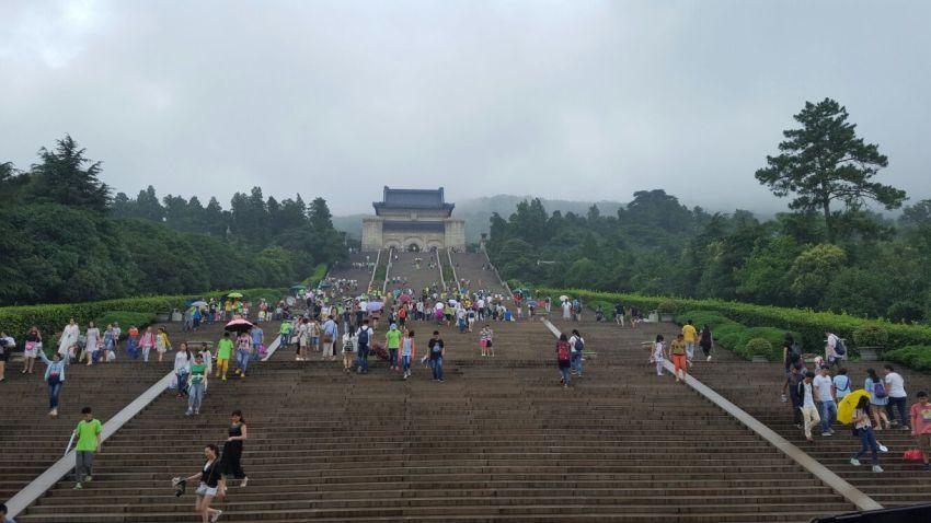 Dr. Sun Yat-sen's Mausoleum Nanjing