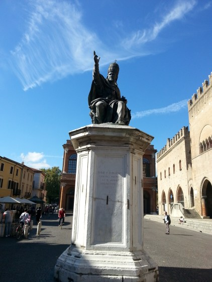 Pope Paul V Monument Rimini