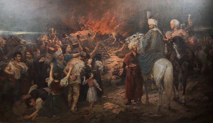 Serbian 18th and 19th century painting
