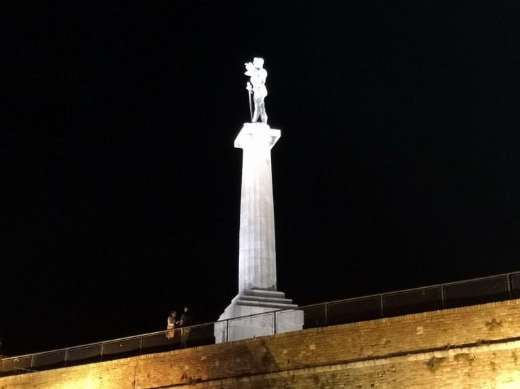 The Victor Belgrade by night