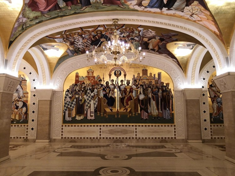 Crypt Saint Sava Church Belgrade