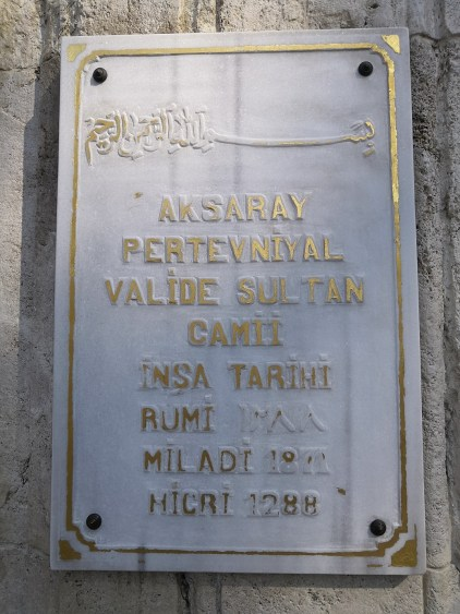 Pertevniyal Valide Sultan Mosque - Ottoman Imperial Mosques