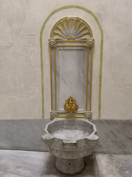 Valide Sultan's Bath - Harem Topkapi Palace