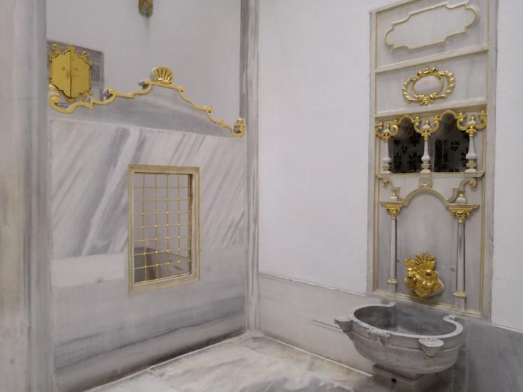 Sultan's Bath - Harem Topkapi Palace