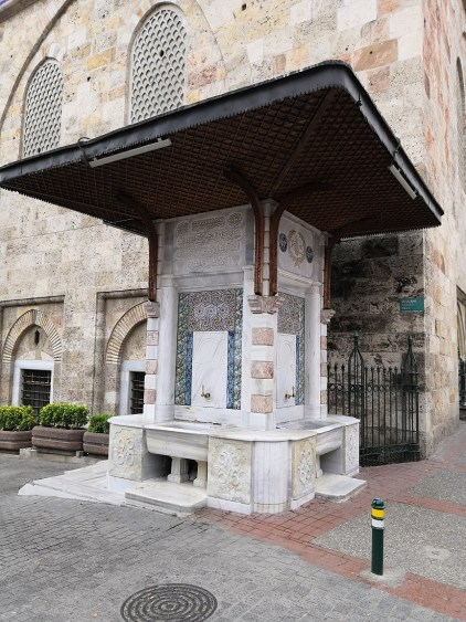 Ulu Mosque Fountain - Bursa