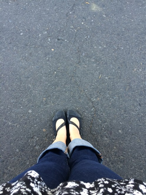 These feet have no idea they are in for almost 8 miles today