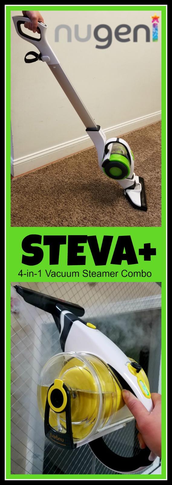 Steamer Vacuum Combo
