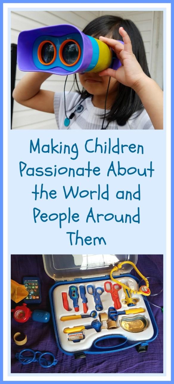 Making children passionate