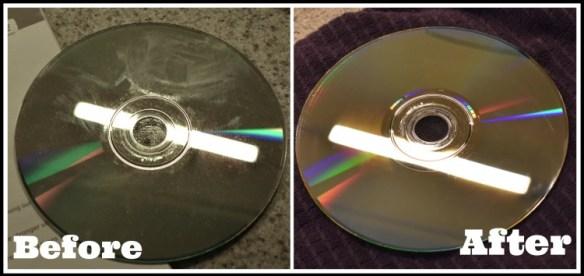 clean DVDs