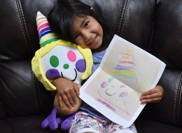 Child's artwork