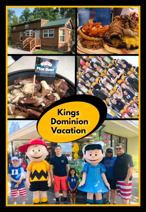 Kings Dominion Vacation