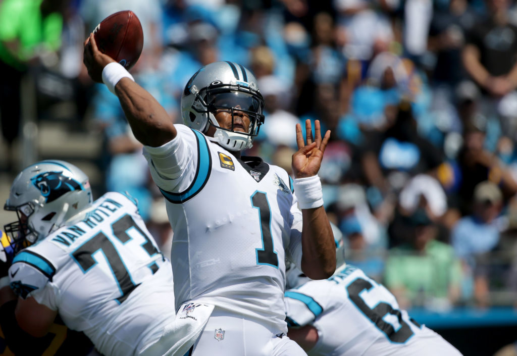 Cam Newton (Photo by Streeter Lecka/Getty Images)