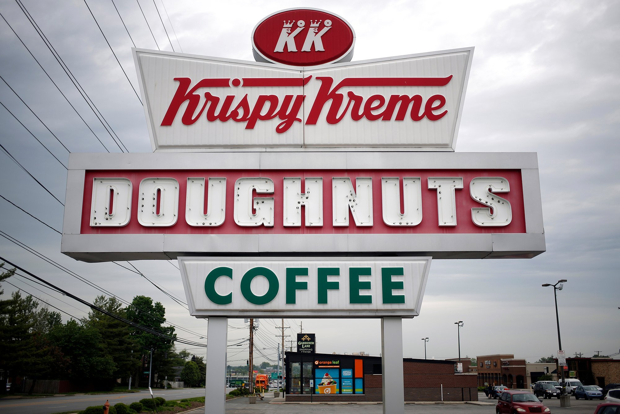 Krispy Kreme (Luke Sharrett/Bloomberg/Getty Images)