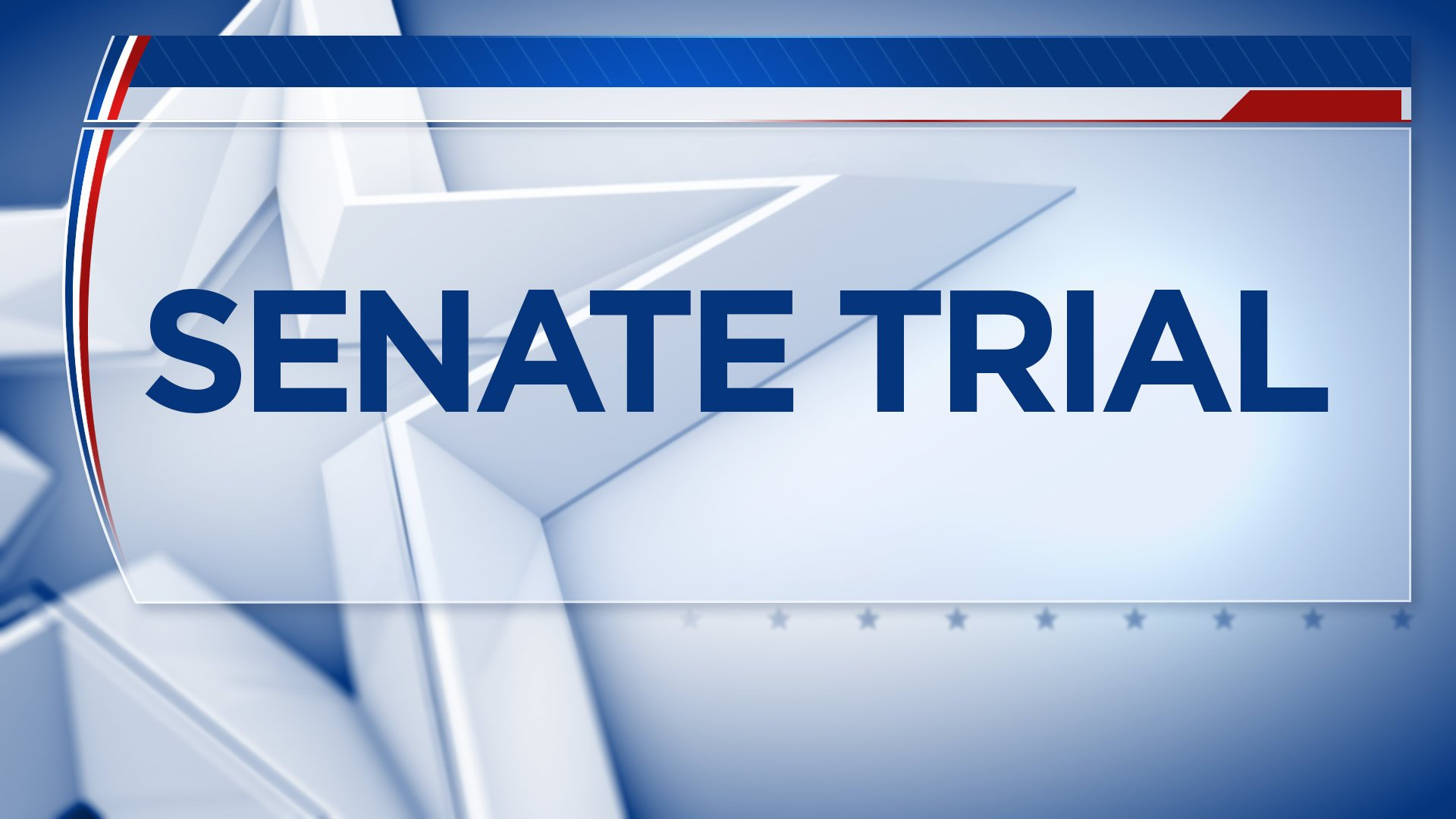 Senate Impeachment Trial graphic