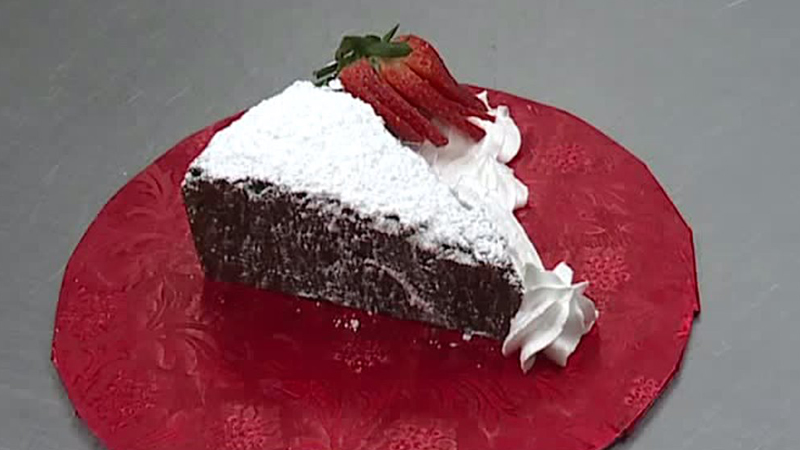 Godino's Bakery shares a sweet recipe for chewy brownies to impress your sweetheart.