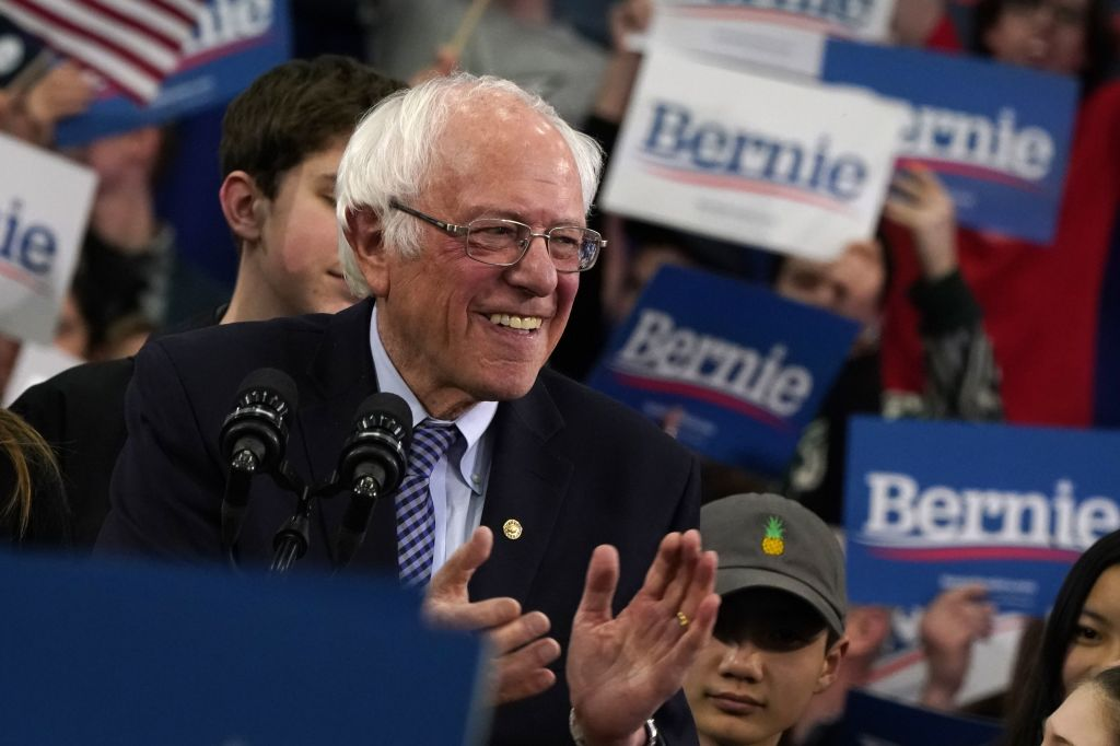 Bernie Sanders (Photo by TIMOTHY A. CLARY/AFP via Getty Images)