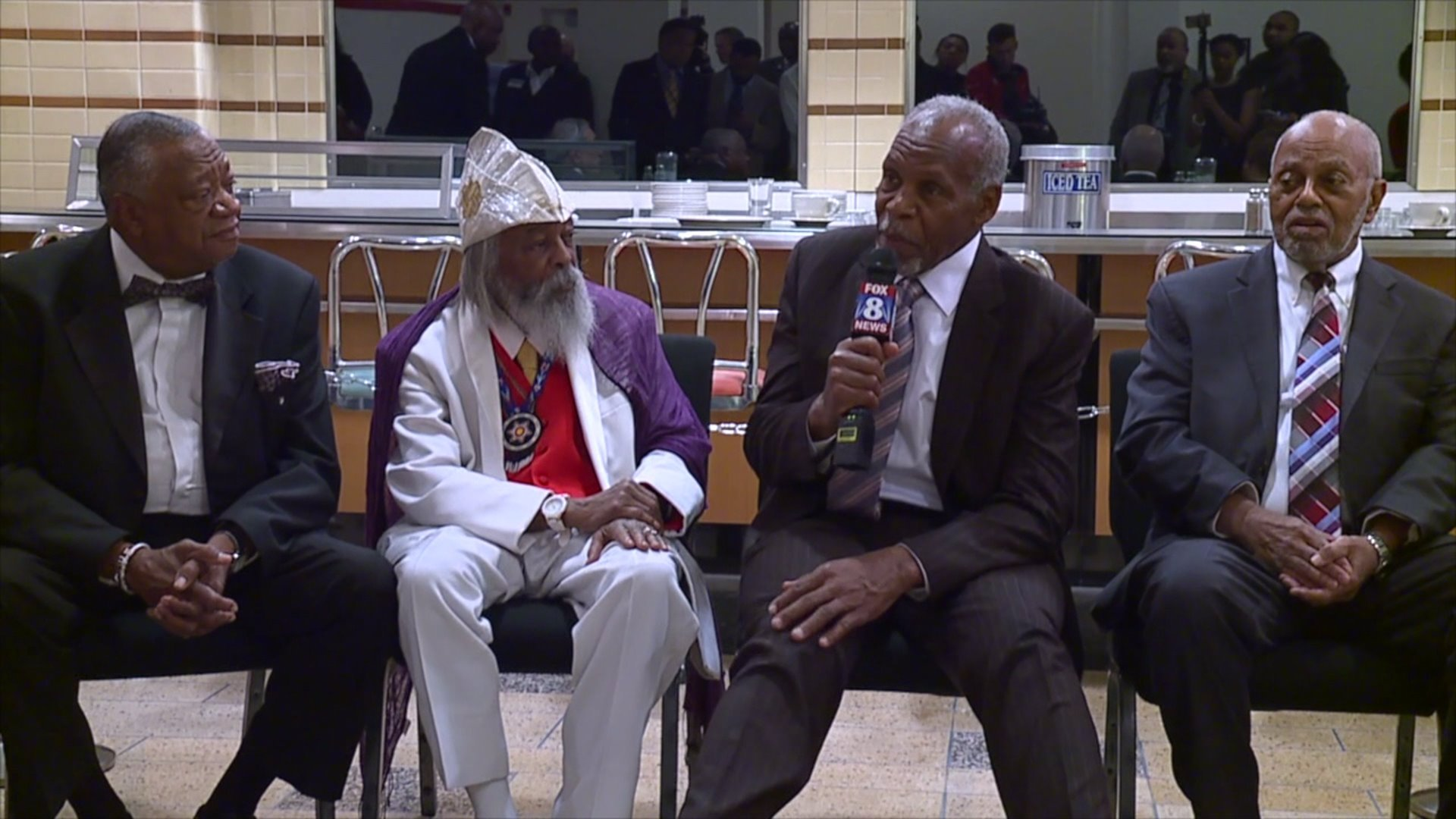 Celebration held to honor the 60th anniversary of the Greensboro sit-in