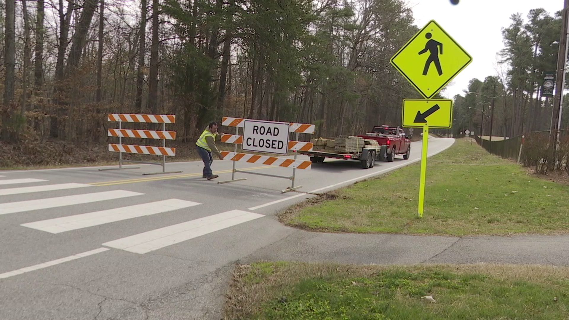 Thousands of drivers impacted by Jamestown road closure
