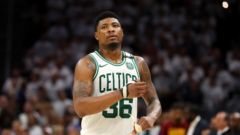 Marcus Smart of the Boston Celtics (Photo by Gregory Shamus/Getty Images)