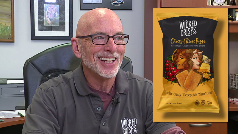 Phil Kosak is the mind behind Wicked Crisps, made in Greensboro.