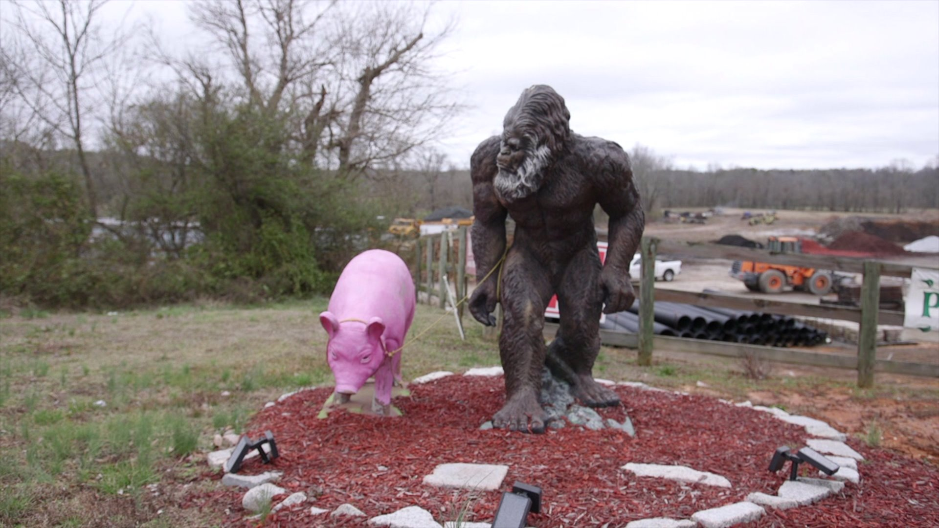 Germanton store uses giant bigfoot statue to attract customers