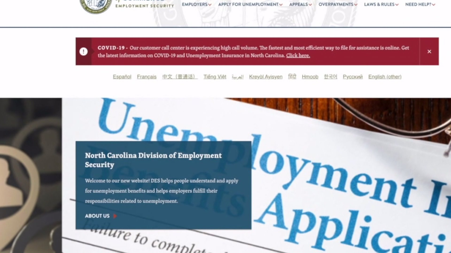 People share frustration while applying for unemployment
