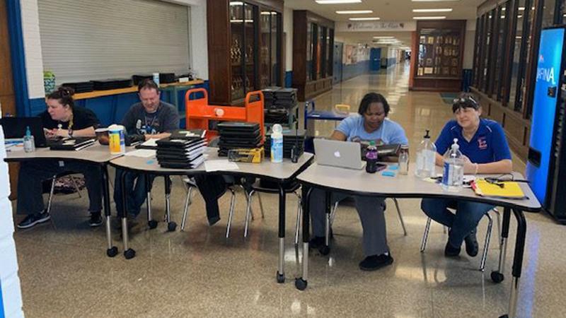 FOX8 Highlighting Heroes: Lexington City Schools Technology/Media Department