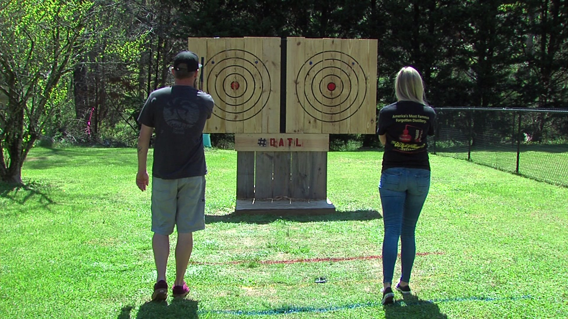 Clemmons couple passionate about ax throwing