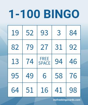 1 100 Bingo