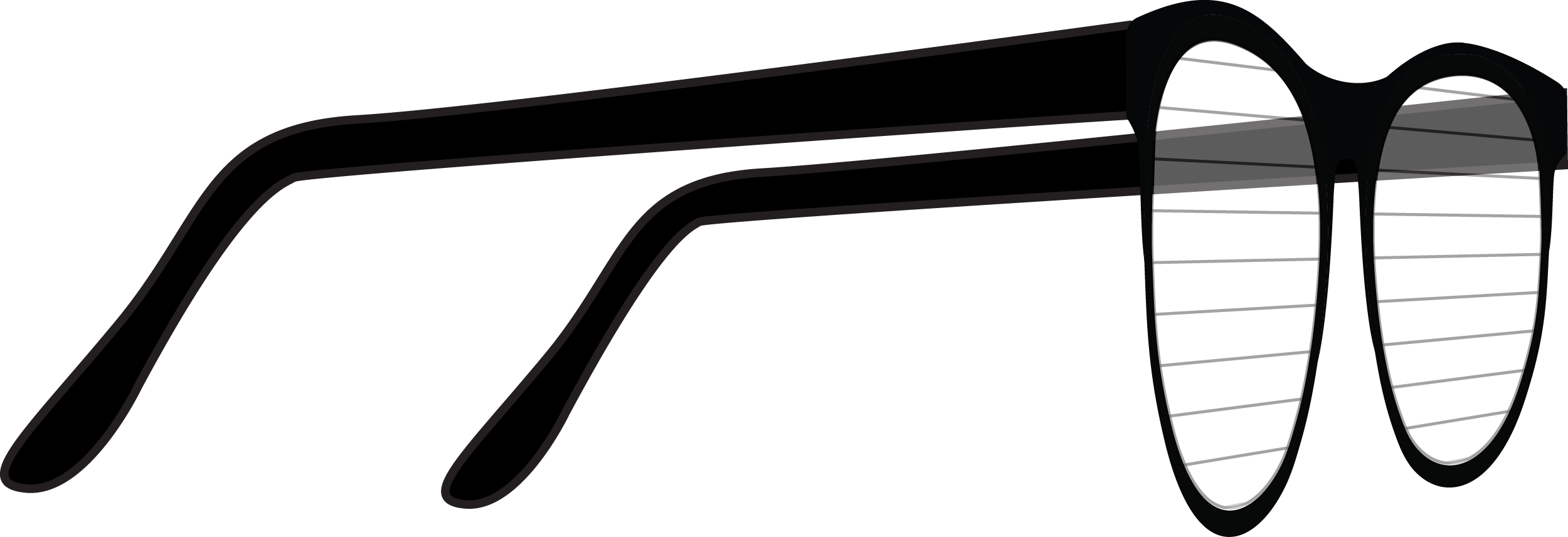 Glasses PNG Side View