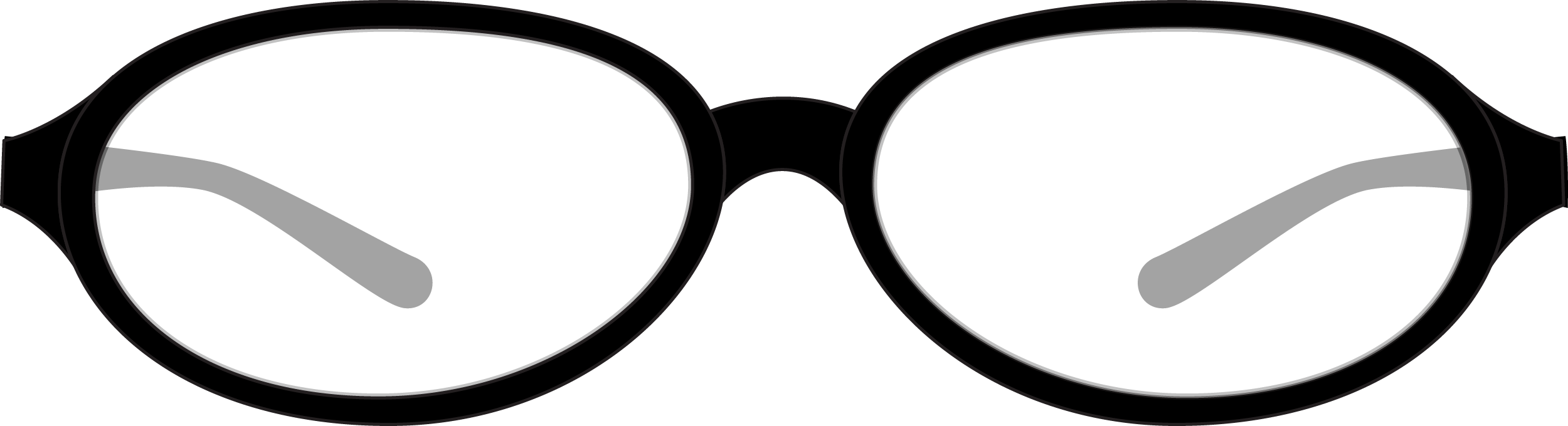 Oval Style Glasses PNG 31