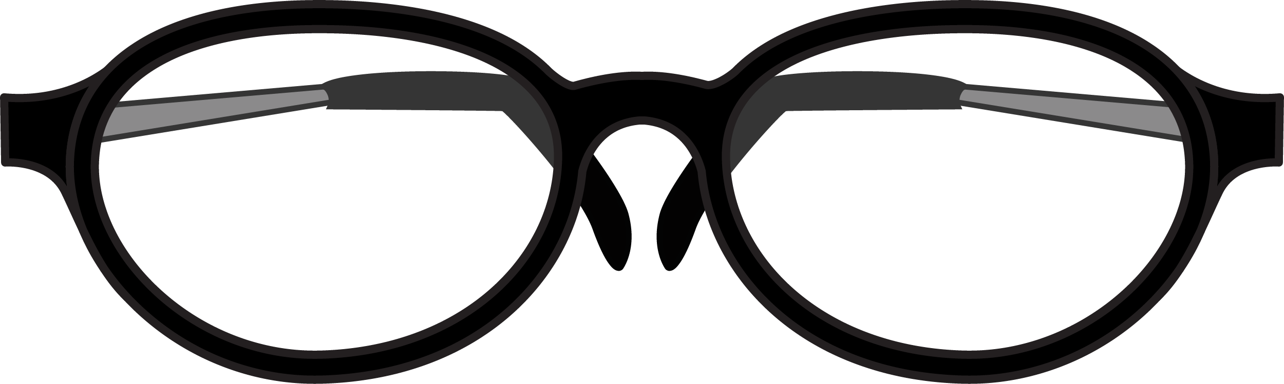 Reading Glasses PNG 44