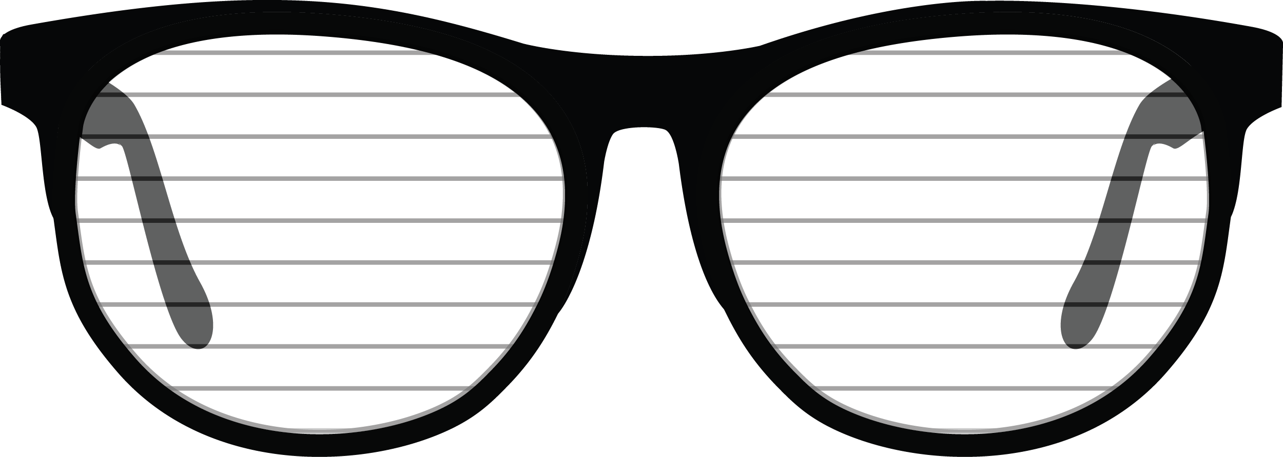 Shutter Glasses PNG