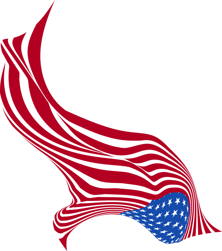 Vertical-Wavy-Style-US-Flag