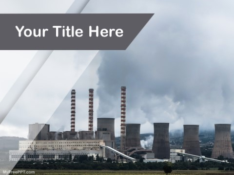 Free Air Pollution Ppt Template Download Free Powerpoint Ppt