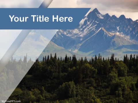 Free Alaska PPT Template
