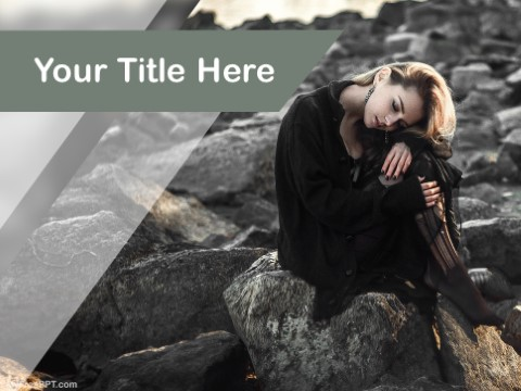 Free Alone PPT Template